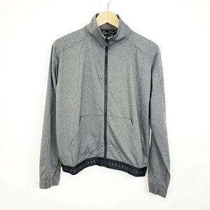 NWT UA Gray Zip Up Jacket | Small